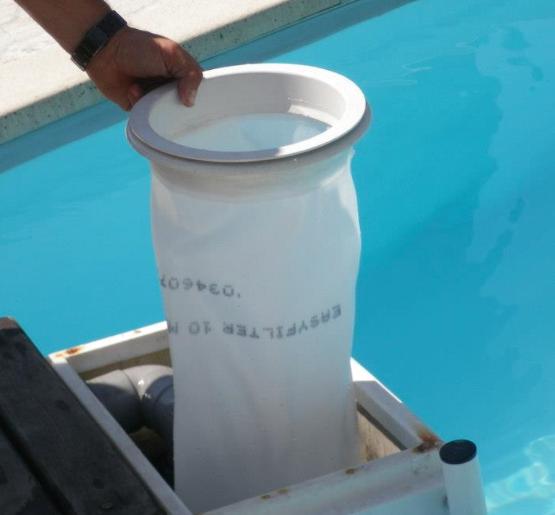 La poche filtrante l 39 alternative aux cartouches de - Cartouche filtre piscine magiline ...